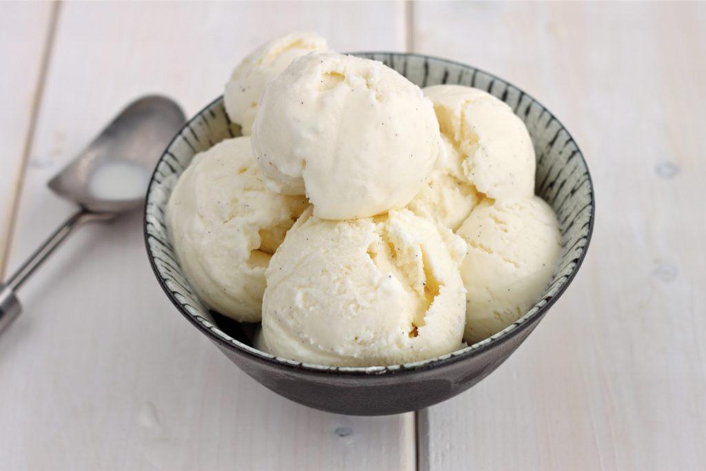 Vanilla Ice Cream - National Ice Cream Day