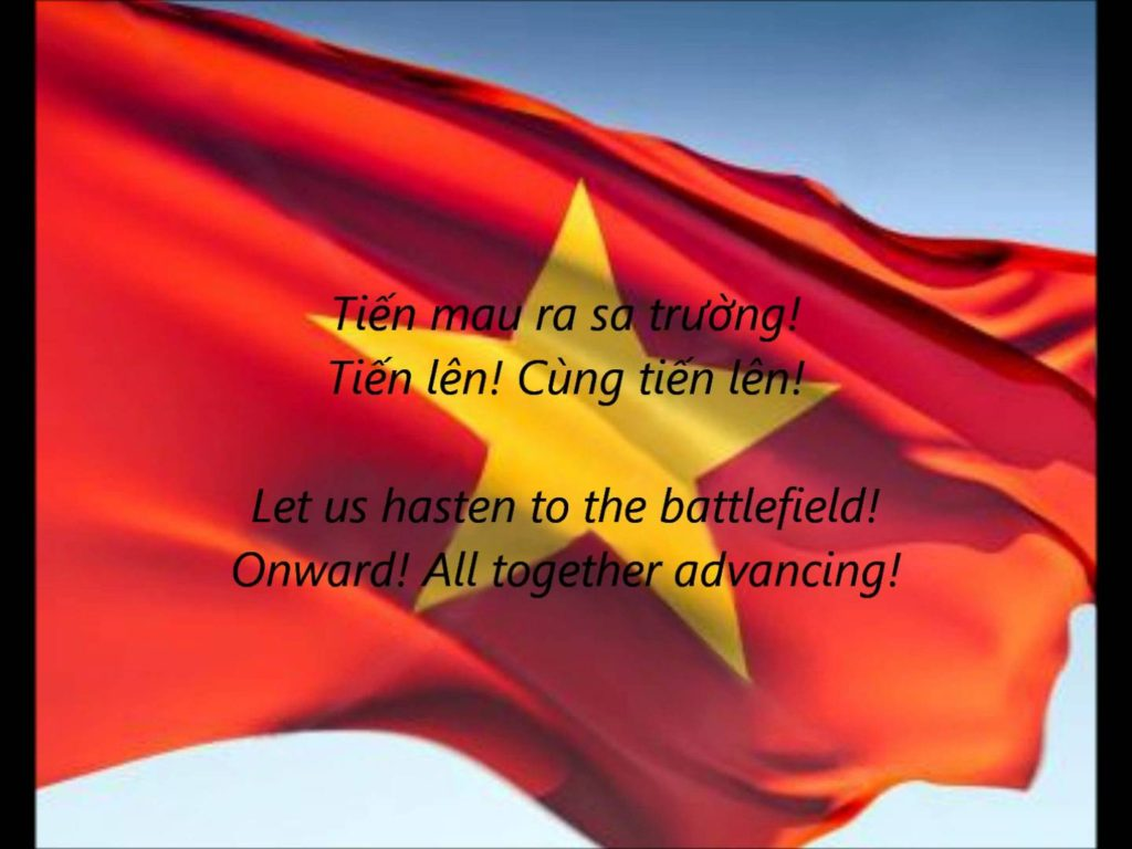 National Anthem of Vietnam