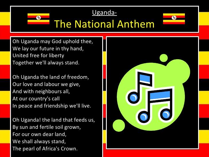 Oh Uganda, Land of Beauty - The National Anthem of Uganda
