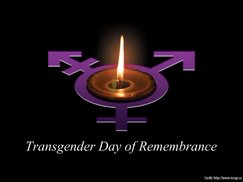 TransGender Day of Remembrance (TODR)