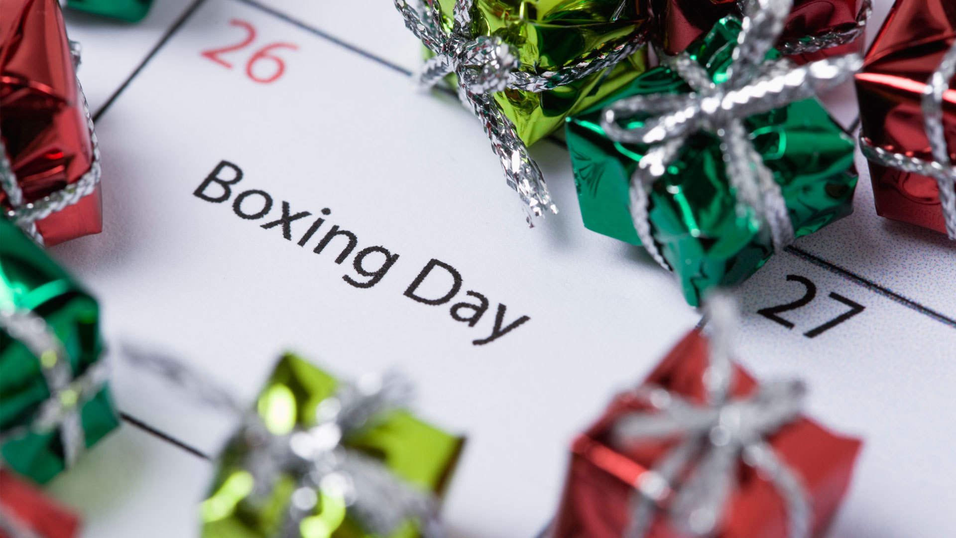 Boxing Day 2017