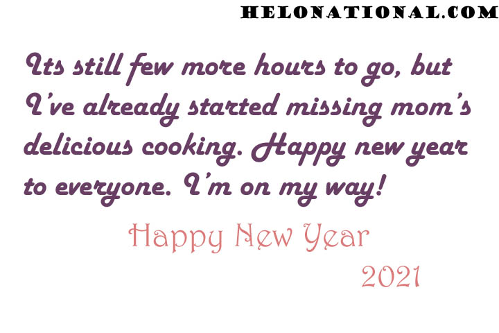 happy New year 2021 Family messages