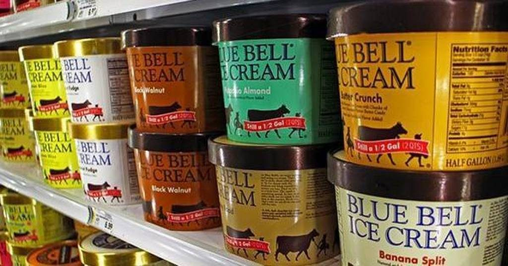 Blue Bell Ice Cream Flavors