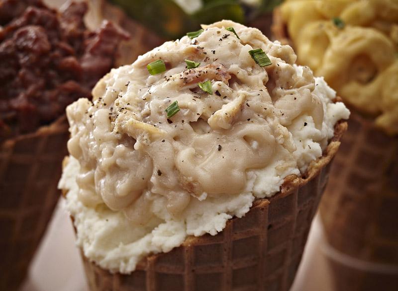 Mashed Potato Ice Cream - National Ice Cream Day
