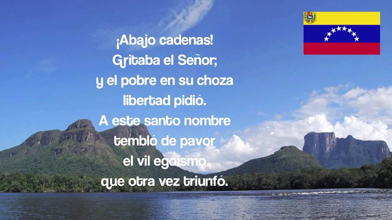 Gloria al Bravo Pueblo: The National Anthem of Venezuela