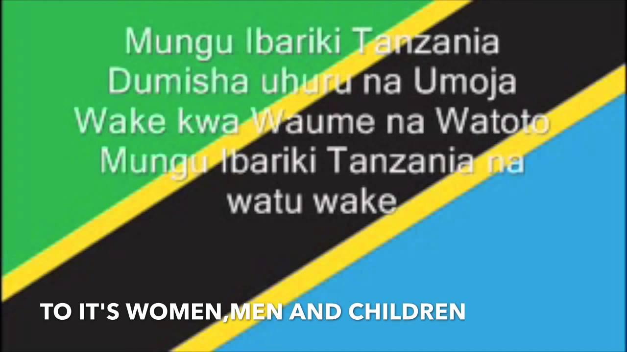 Mungu ibariki Afrika - The National Anthem of Tanzania