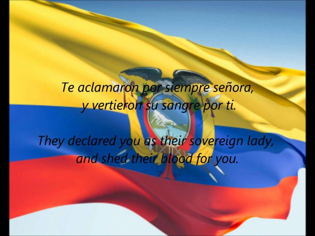 Salve, Oh Patria: The National Anthem of Ecuador
