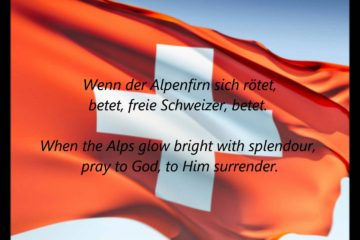 Swiss National Anthem with English Lyrics