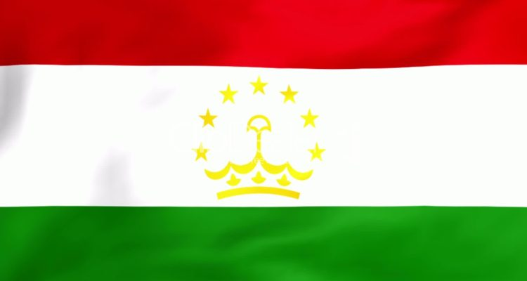 Tajikistan National Flag