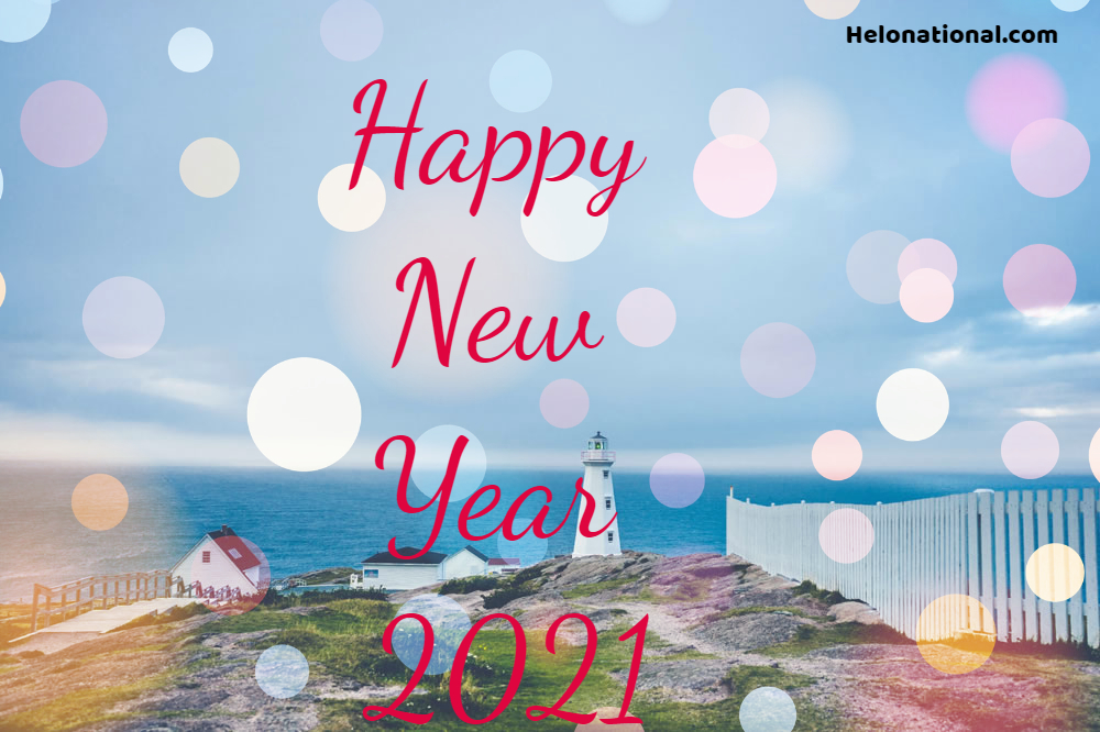 Happy New Year Clip Art 2021