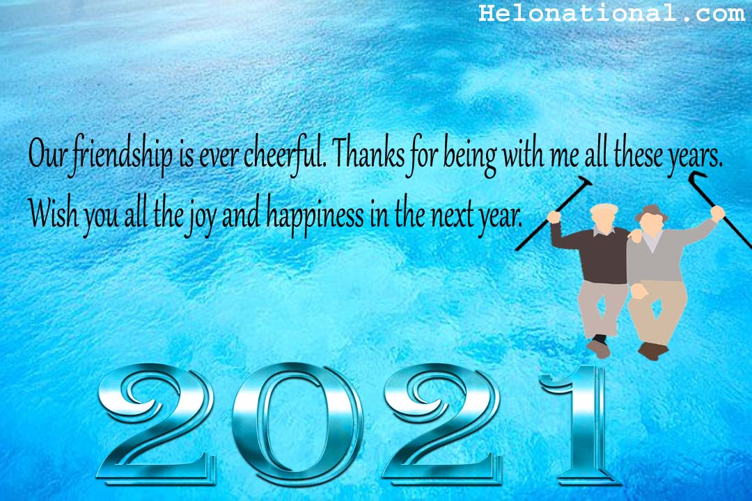 happy new year 2021 wishes for friend