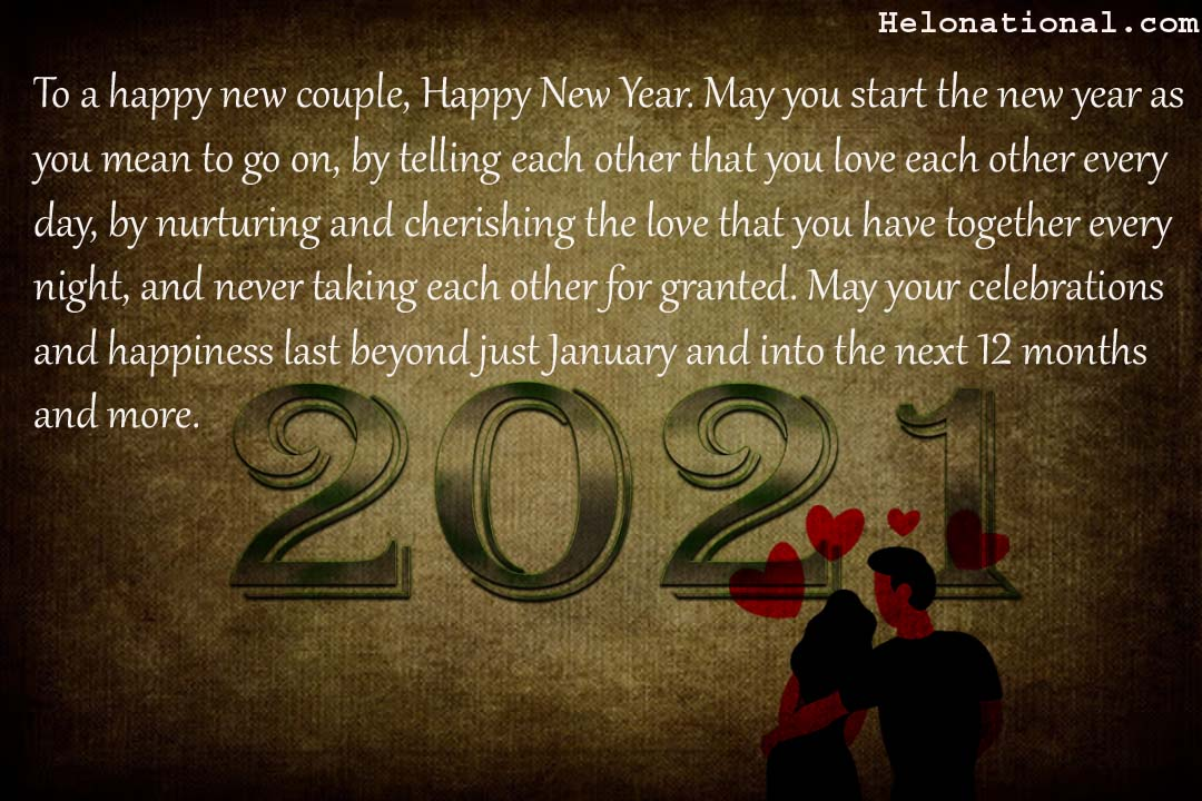 2021 couple wishes