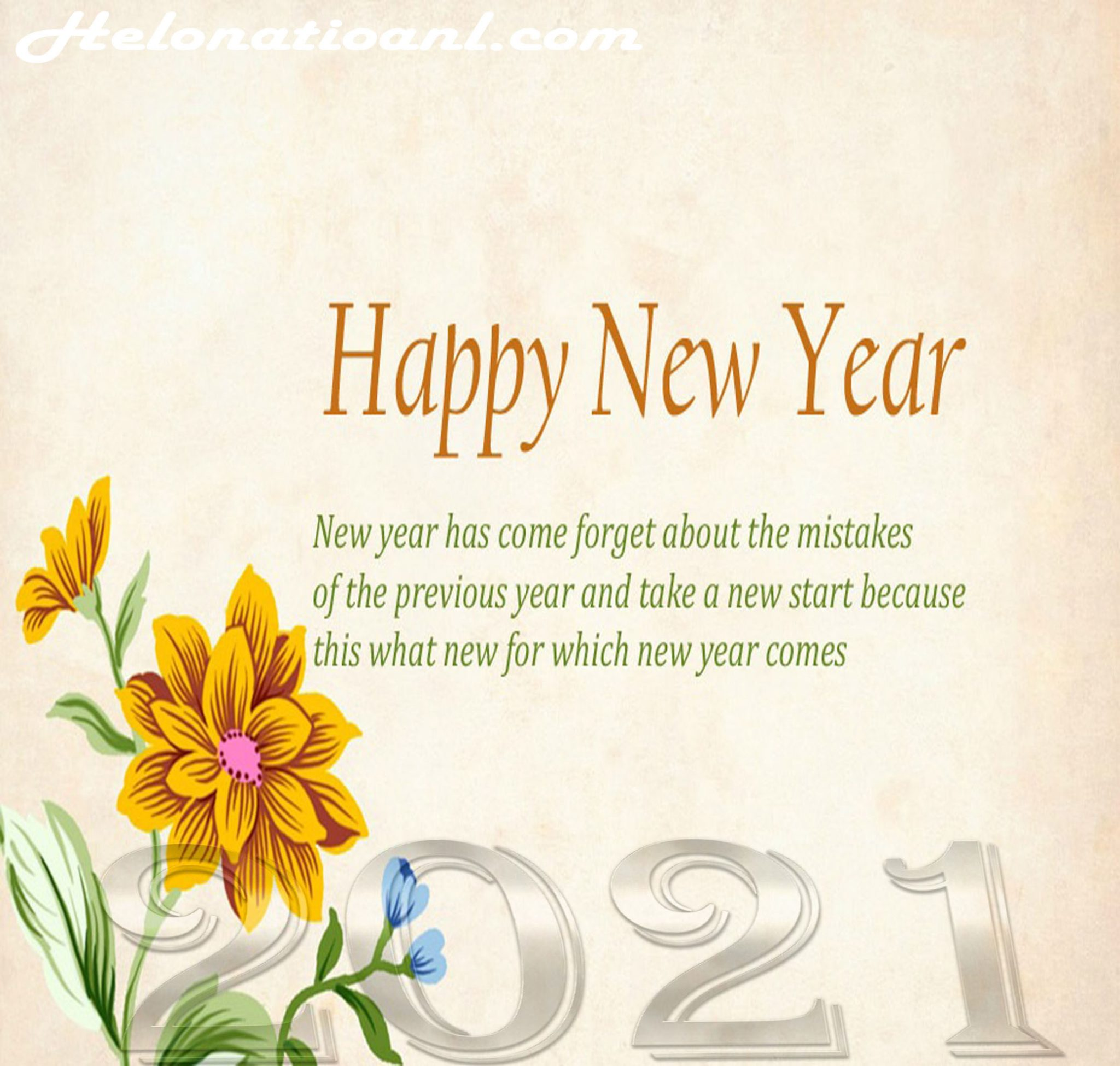 Amazing whatsapp new year 2021 messages