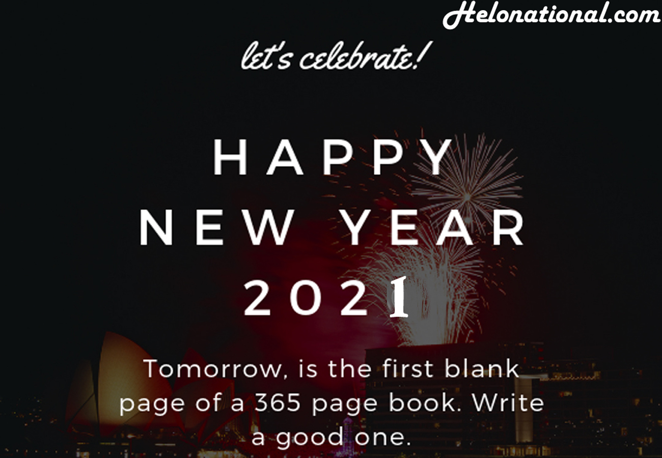 Download Happy New Year 2021 friend wishes Images, photos, wallpapers