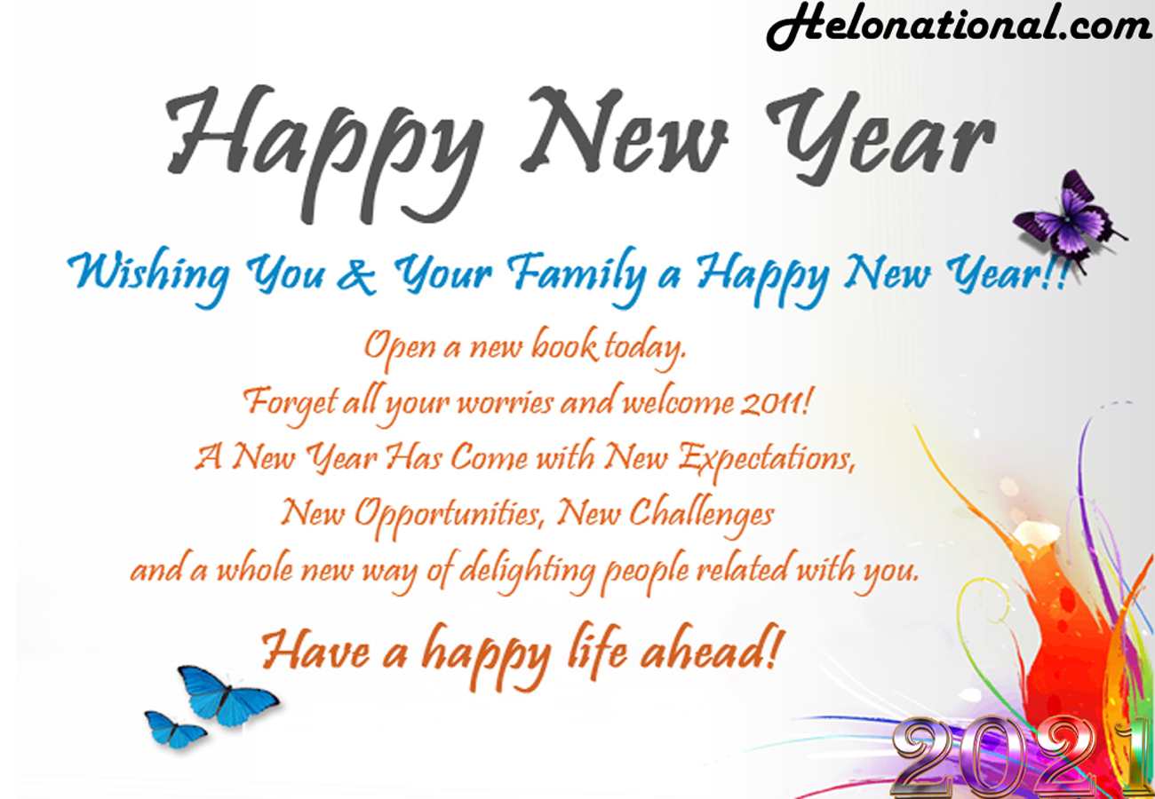 Download Happy New Year 2021 wishes Images, wallpapers