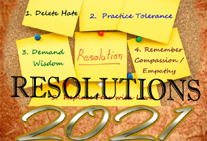 HNY 2021 Resolutions