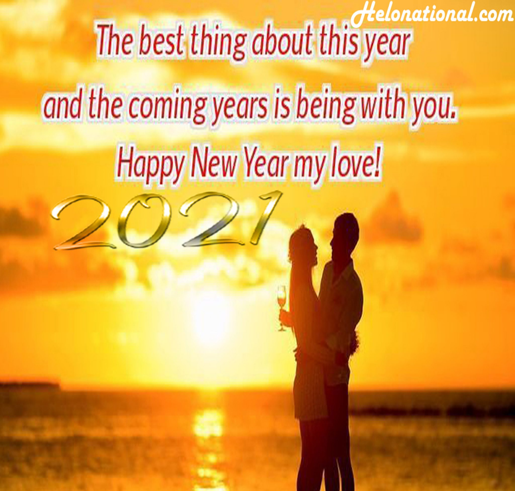 HNY 2021 love quotes images