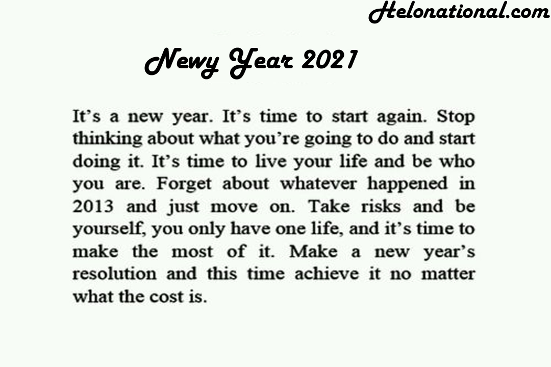 HNY 2021 love quotes