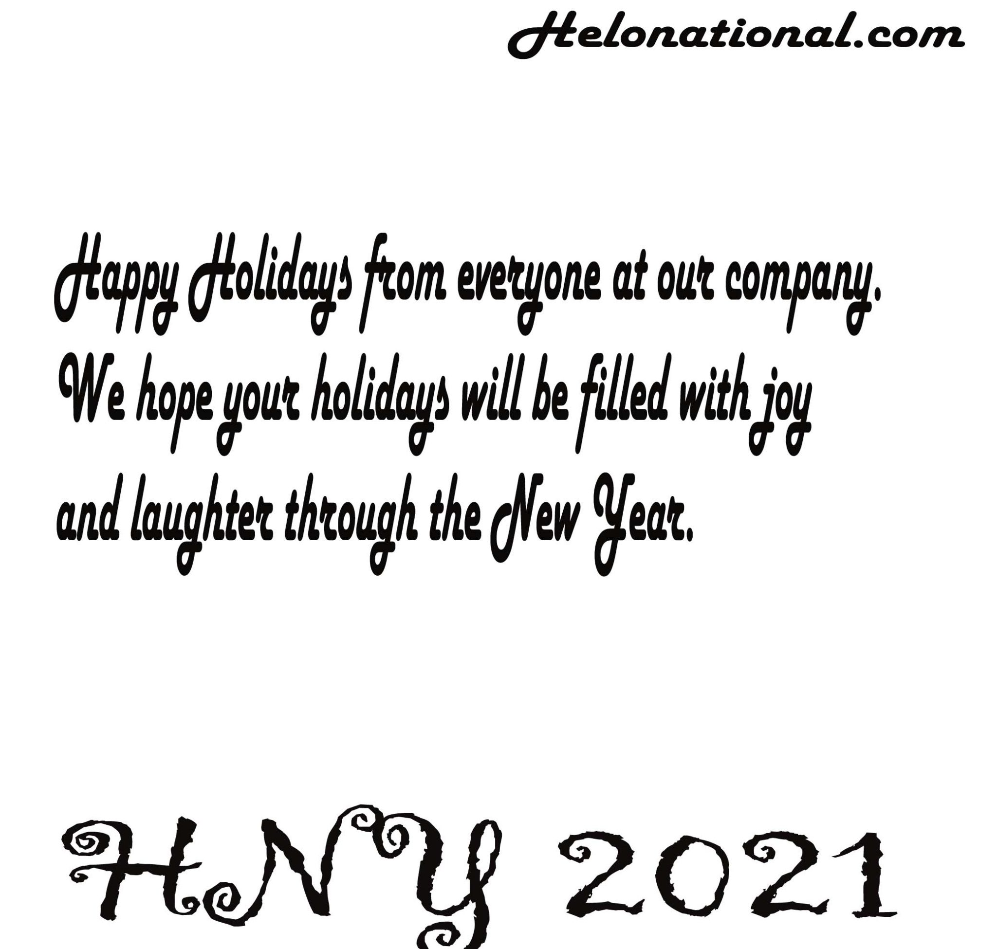 HNY 2021 quotes for business