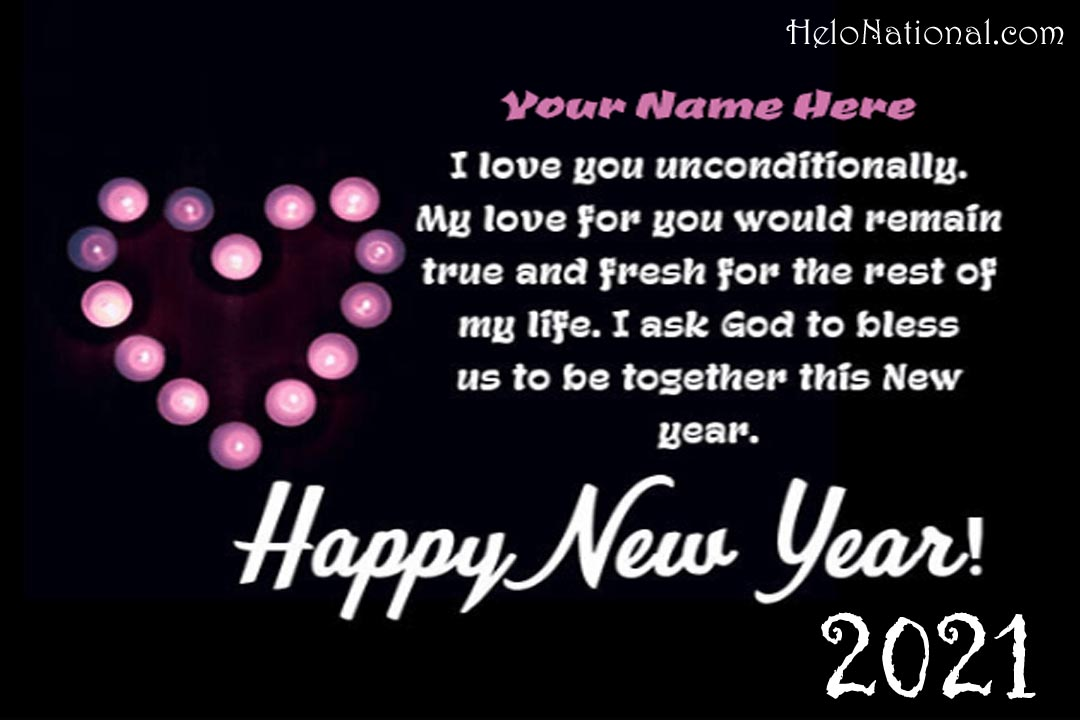 HNY Wishes for gf