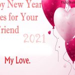 Happy New Year 2021 Wishes for Girlfriend