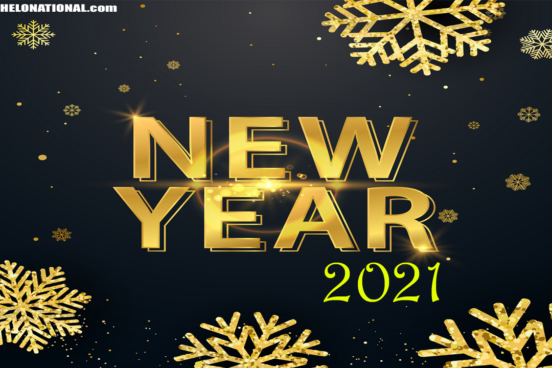 Happy New Year 2021 wishing cards