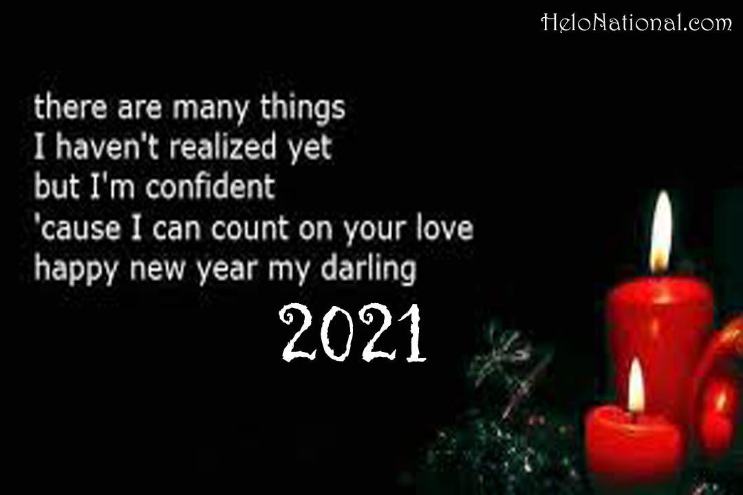 Happy New Year Wishes for Girlfriend 2021