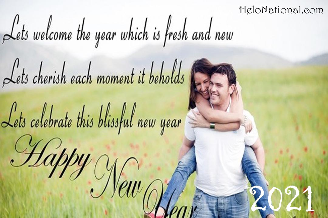 Happy New Year Wishes for gf