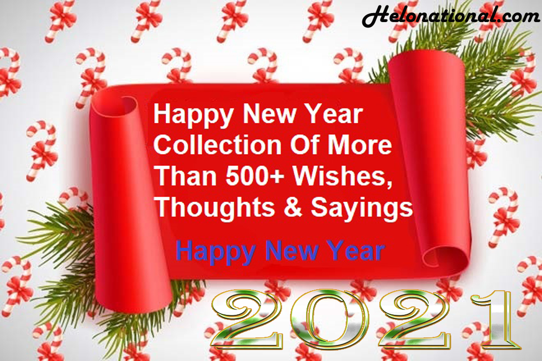 Happy New year 2021 quotes and wishes