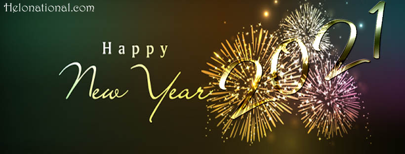 Happy New year Facebook covers 2021
