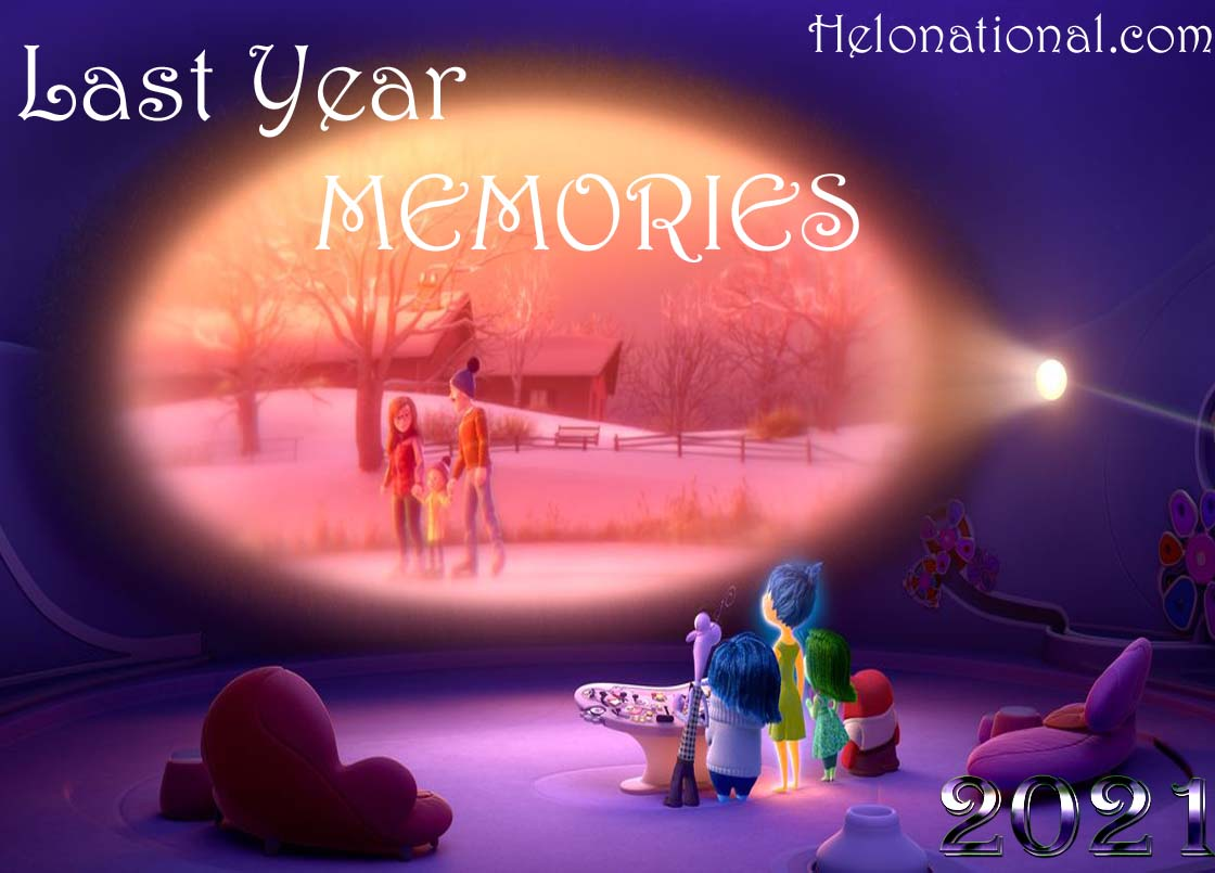 Happy new year 2021 last year memories
