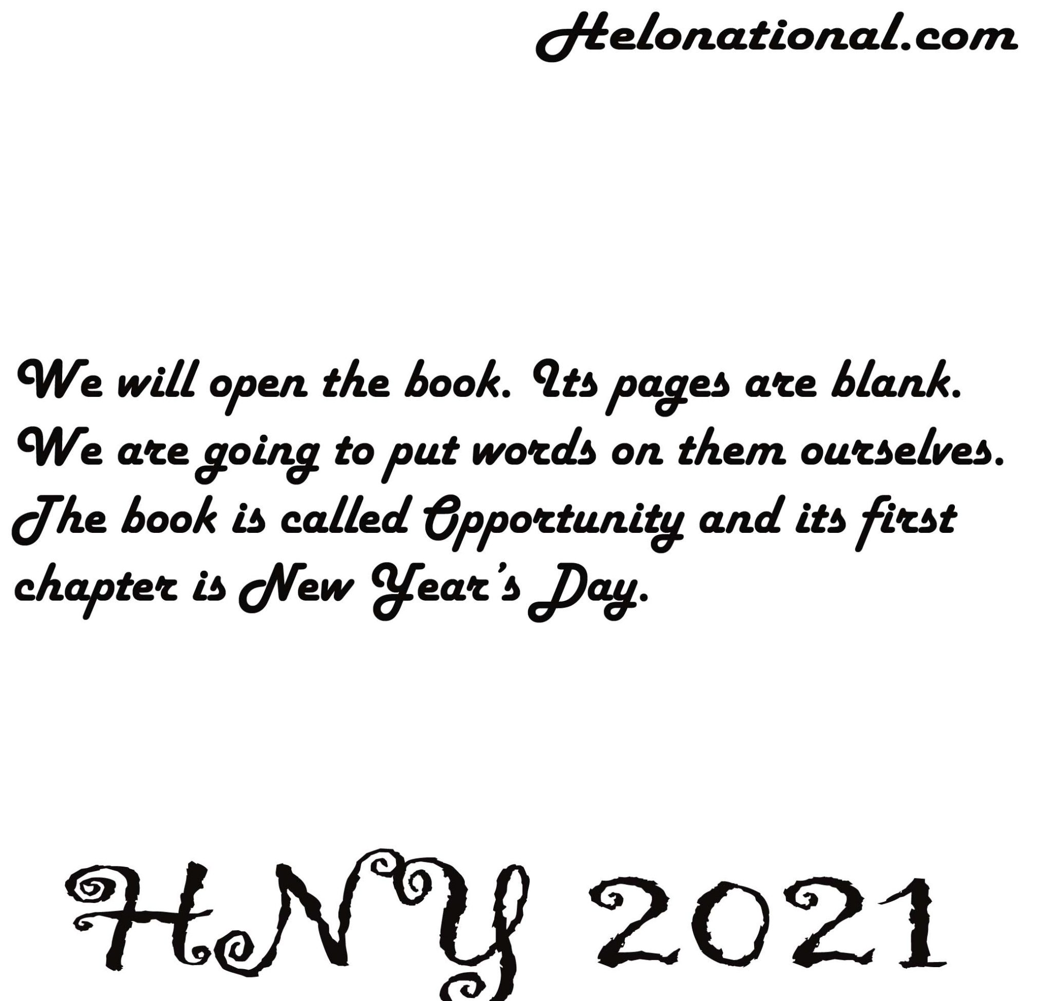 Happy new year 2021 quotes for love