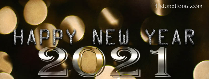 New year 2021 Facebook covers