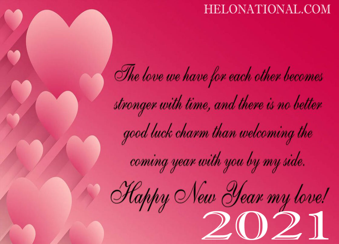 New year 2021 wishes for boyfriend