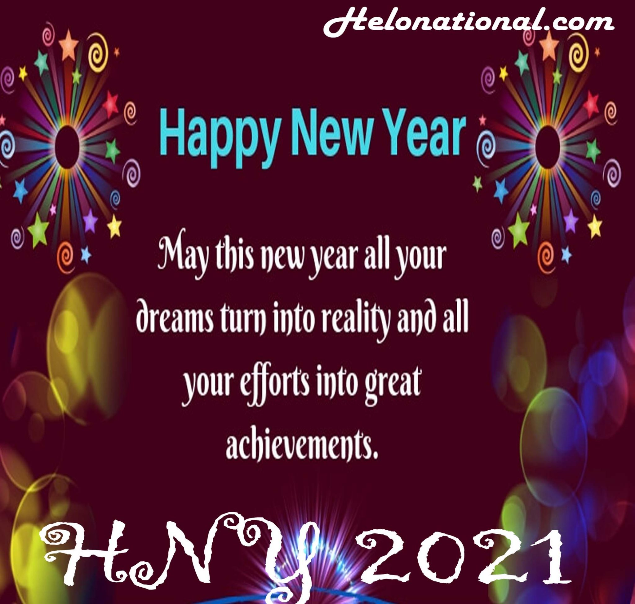 Get Happy New Year 2021 Quotes Images Wishes Hny 2021