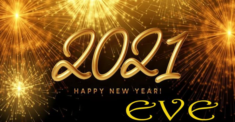 Happy new year eves 2021