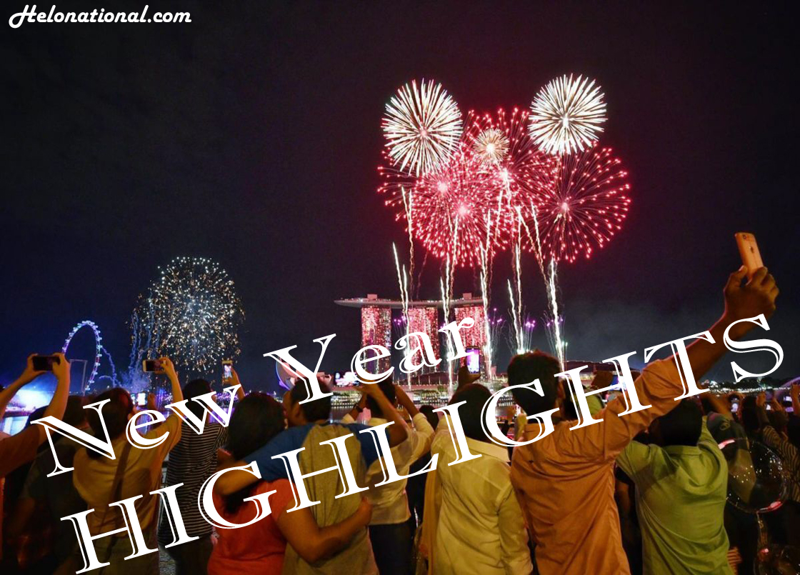 happy new year highlights