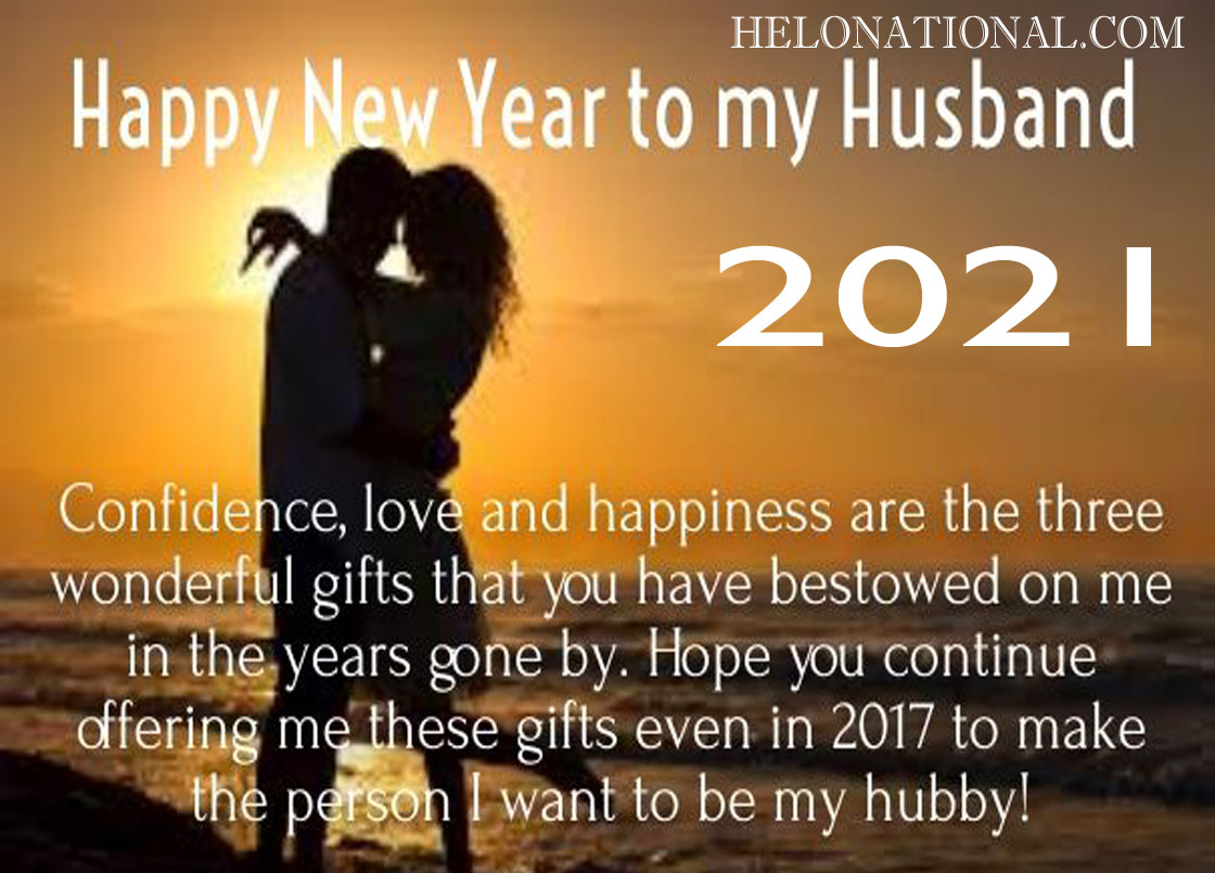happy new year wishes husband