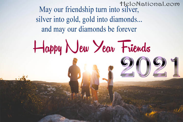 new year 2021 wishes for friends