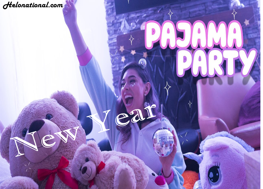 New year pajama party