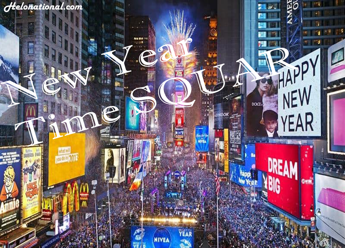 New year time square
