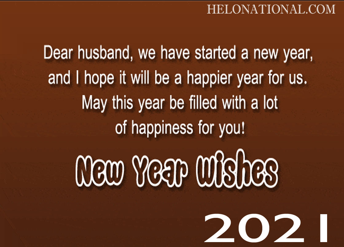 New year wishes 2021 husband
