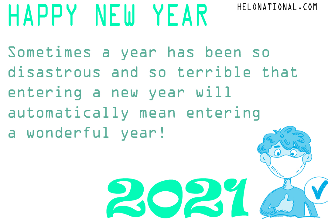 HNY WISHES FOR QUARANTINE
