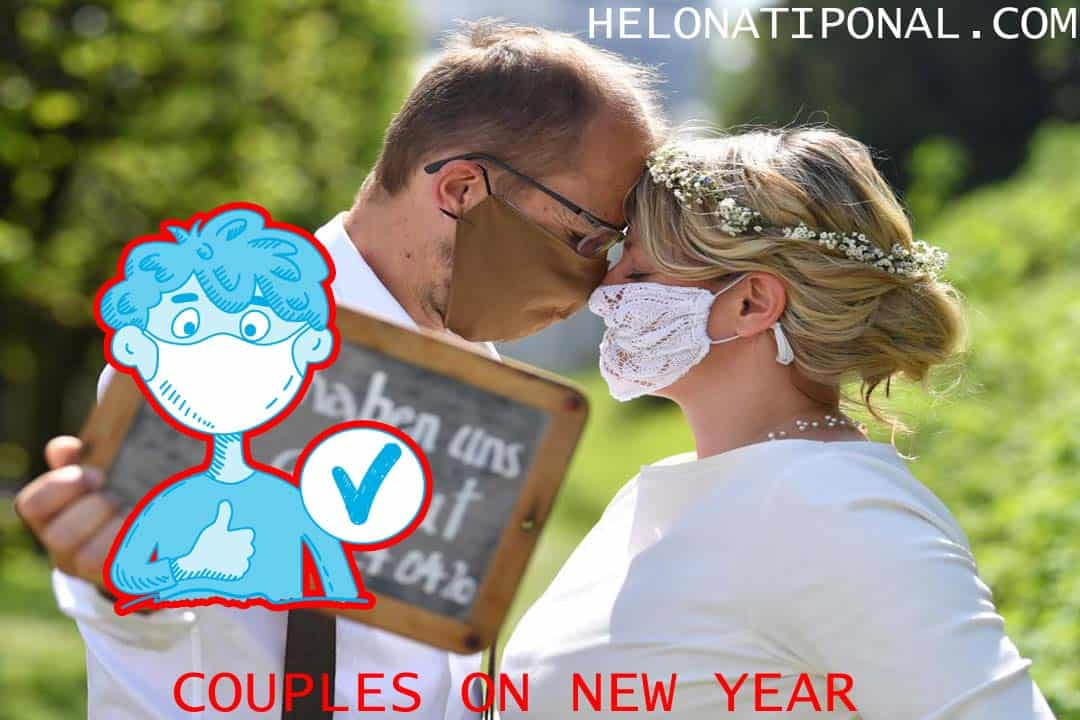 Happy New Year 2021 Couples Goal in Coronavirus