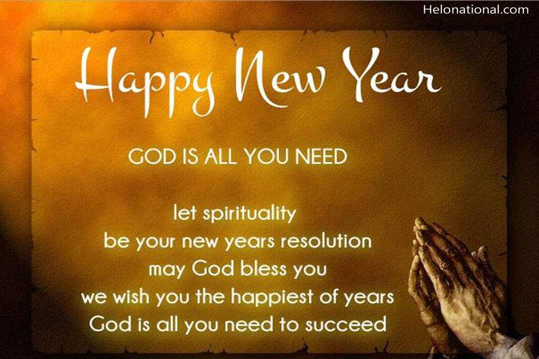Happy New Year 2021 Religious quotes