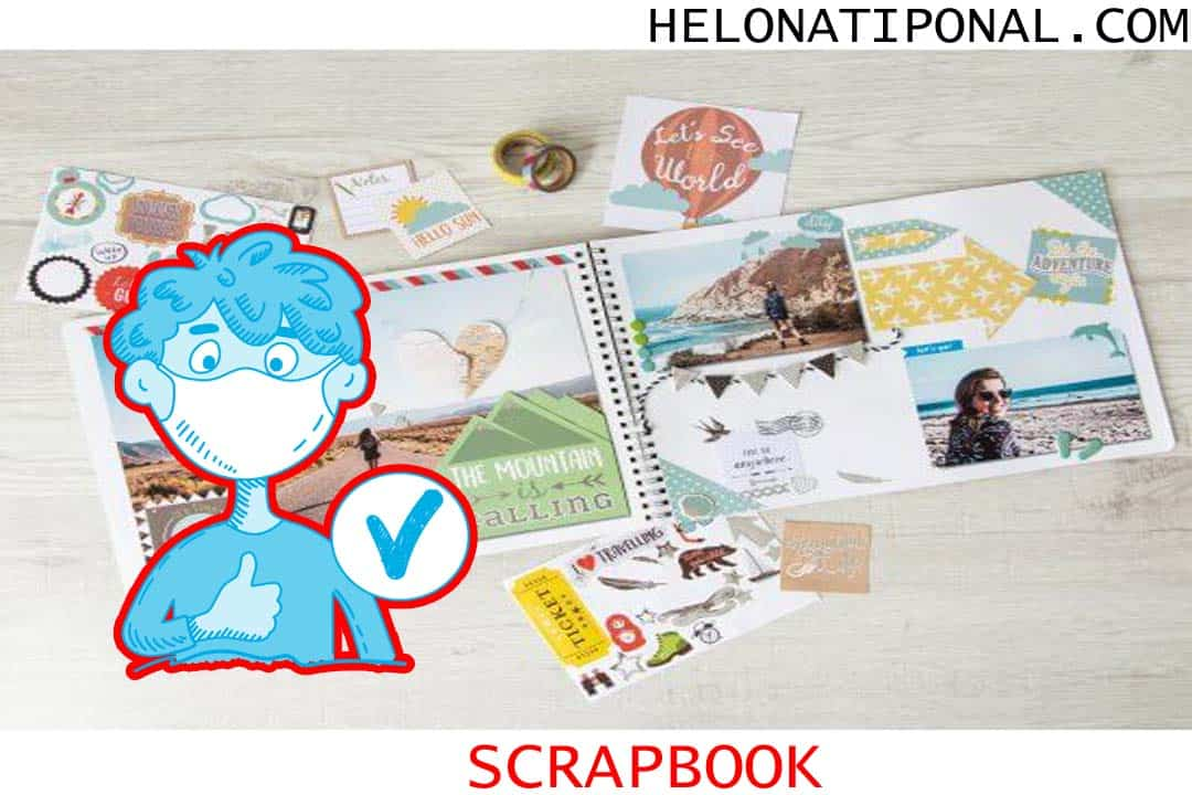 Happy New Year 2021 Scrapbook