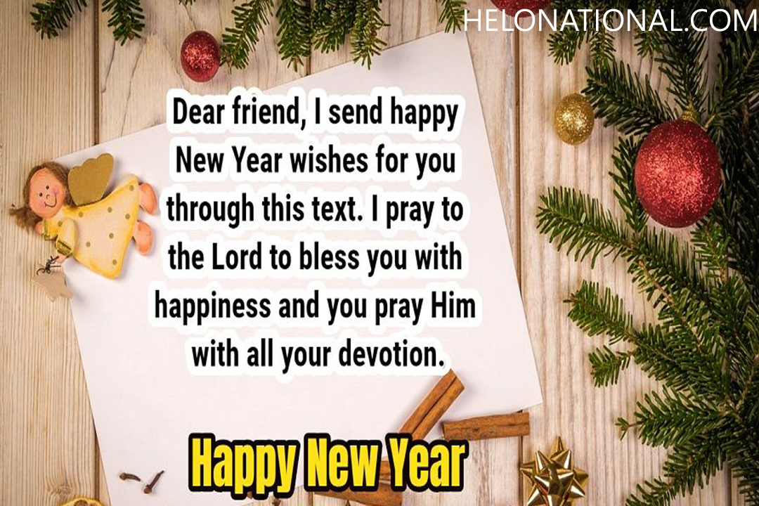 Happy New Year Christian Wishes