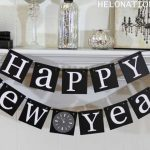 Happy New Year Decoration 2022 Ideas: Balloons, Office, Home