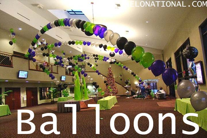 Happy New Year Decoration balloons