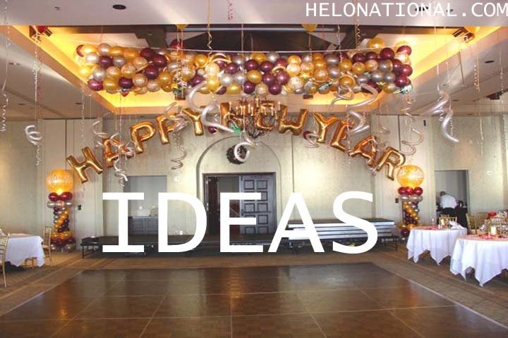 Happy New Year Decoration ideas